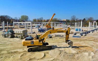 Szybkie postępy budowy Galerii Chełm