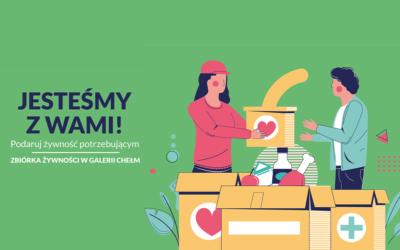 Zbiórka żywności w Galerii Chełm!