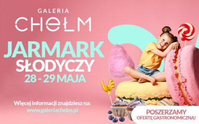 28 i 29 maja – Jarmark Słodyczy