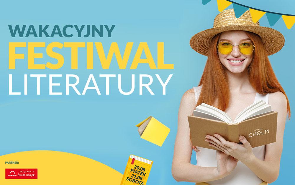 Wakacyjny Festiwal Literatury w Galerii Chełm